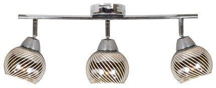 LAMPA ŚCIENNA  CANDELLUX FORT 93-62826 LISTWA  E14 LED CHROM