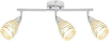LAMPA ŚCIENNA  CANDELLUX JUBILAT 93-55729 LISTWA  E14 LED CHROM