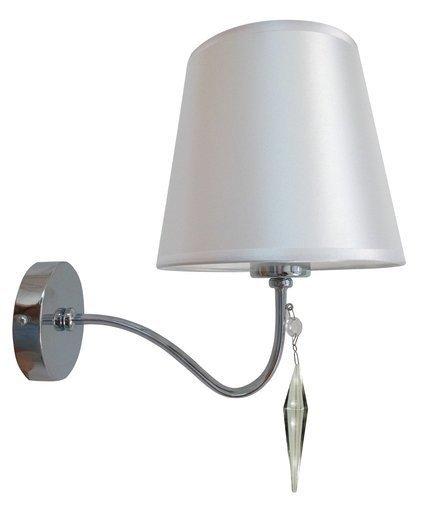 LAMPA ŚCIENNA KINKIET CANDELLUX ANSA 21-40497  E27 CHROM