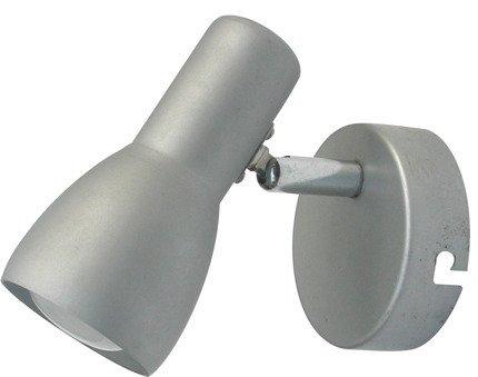 LAMPA ŚCIENNA KINKIET CANDELLUX PICARDO 91-43917  E14 SZARO SREBRNY