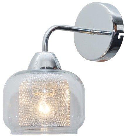 LAMPA ŚCIENNA KINKIET CANDELLUX RAY 21-67067  E14 CHROM