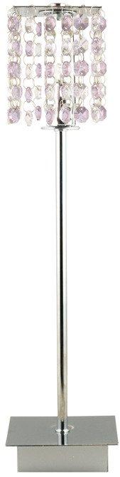 LAMPA STOŁOWA GABINETOWA CANDELLUX CLASSIC 41-59584  G9 FIOLETOWA