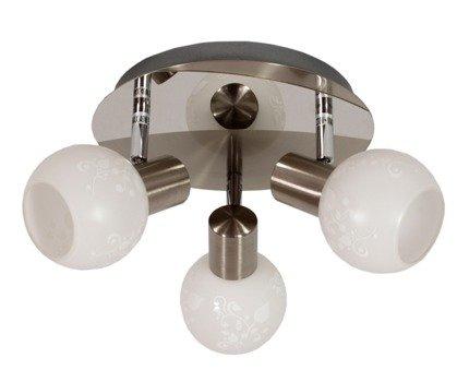 LAMPA SUFITOWA  CANDELLUX AVILA 98-10070 PLAFON  E14 SATYNA