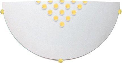 LAMPA SUFITOWA  CANDELLUX PALINA 11-41855 PLAFON1/2 ŻÓŁTY