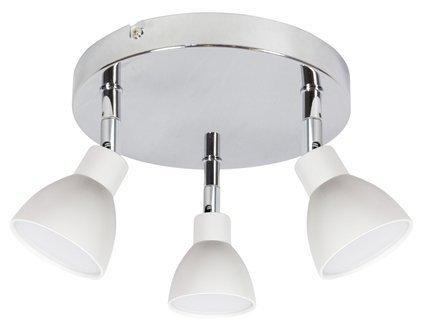 LAMPA SUFITOWA  CANDELLUX ROY 98-67678 PLAFON  LED COB GŁÓWKA OKRĄGŁA  Z PRZEGUBEM   BIAŁY
