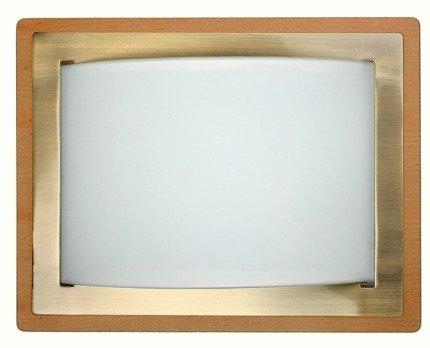 LAMPA SUFITOWA CANDELLUX WYPRZEDAŻ 10-73979 MERA PLAFON(28X36) E27 2X60W JAS DR PATYNA METAL