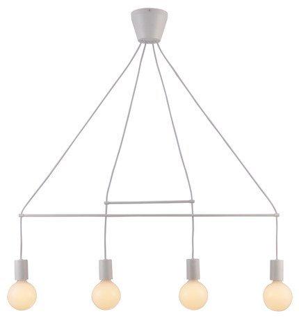 LAMPA SUFITOWA WISZĄCA CANDELLUX ALTO 34-70906  E27 BIAŁY MATOWY