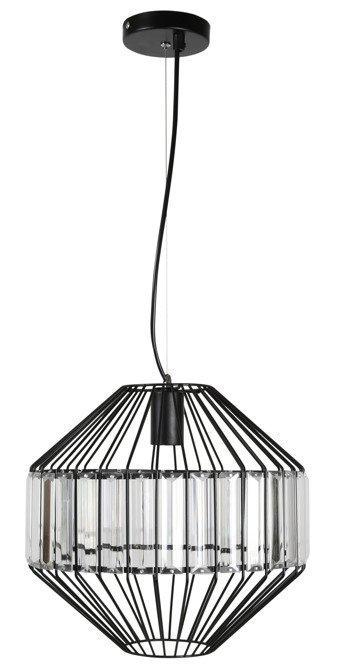 LAMPA SUFITOWA WISZĄCA CANDELLUX ALVARO 31-55170   E27 CZARNY