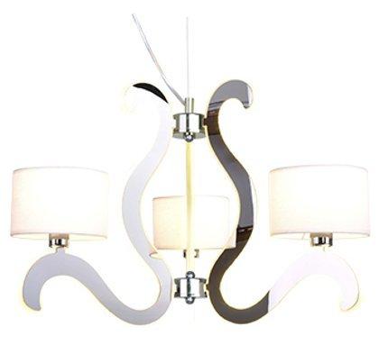 LAMPA SUFITOWA WISZĄCA CANDELLUX AMBROSIA 33-33895  E14 +  LED CHROM