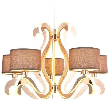LAMPA SUFITOWA WISZĄCA CANDELLUX AMBROSIA 35-33918  E14 +  LED MIEDZIANY