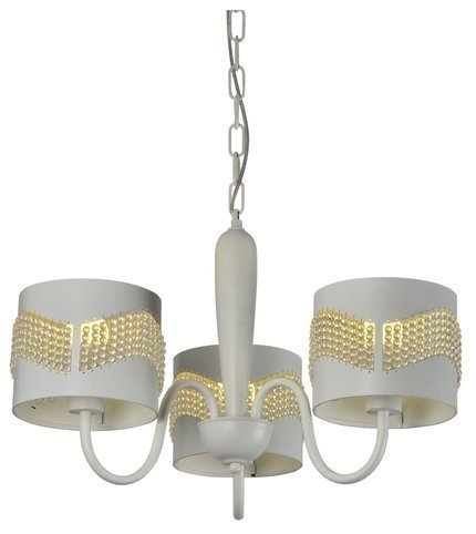 LAMPA SUFITOWA WISZĄCA CANDELLUX ANTONIO 33-22998  E27 BIAŁY