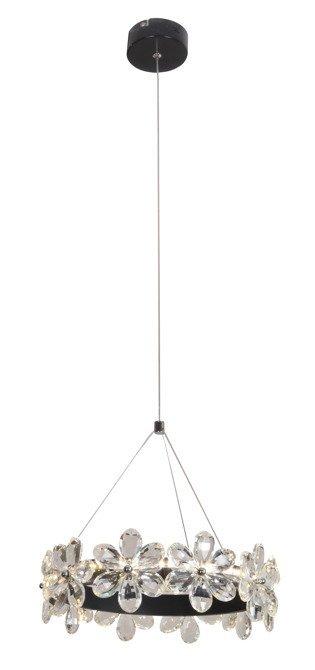LAMPA SUFITOWA WISZĄCA CANDELLUX ARVIN 31-69702   LED CZARNY