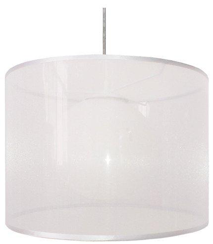 LAMPA SUFITOWA WISZĄCA CANDELLUX CHICAGO 31-24886   E27 BIAŁY