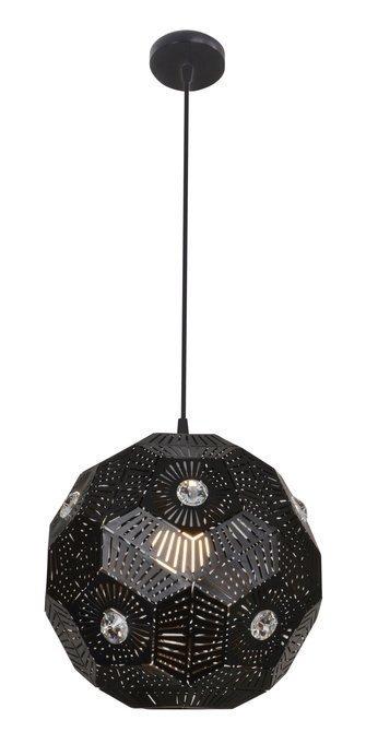 LAMPA SUFITOWA WISZĄCA CANDELLUX EUPHORIA 31-69764   E27 CZARNY