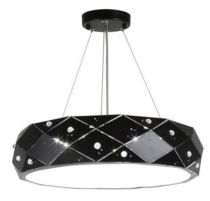 LAMPA SUFITOWA WISZĄCA CANDELLUX GLANCE 31-64868   LED 4000K CZARNY