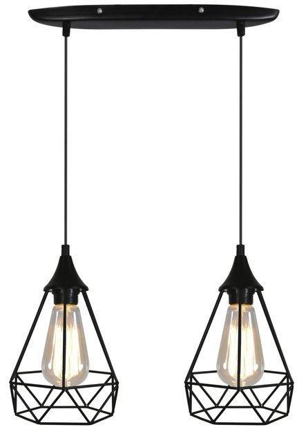 LAMPA SUFITOWA WISZĄCA CANDELLUX GRAF 32-62895  E27 CZARNY
