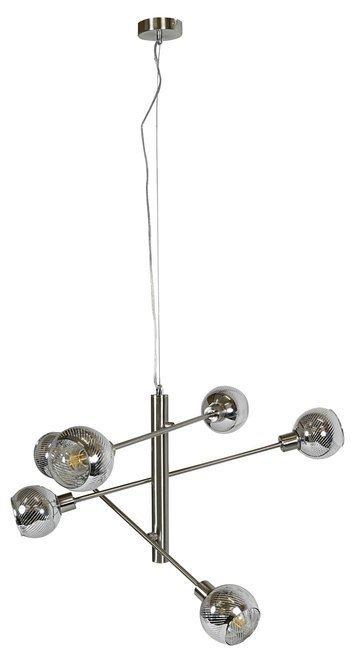 LAMPA SUFITOWA WISZĄCA CANDELLUX MIGO 36-72528 LINKA  E14 LED SATYNA