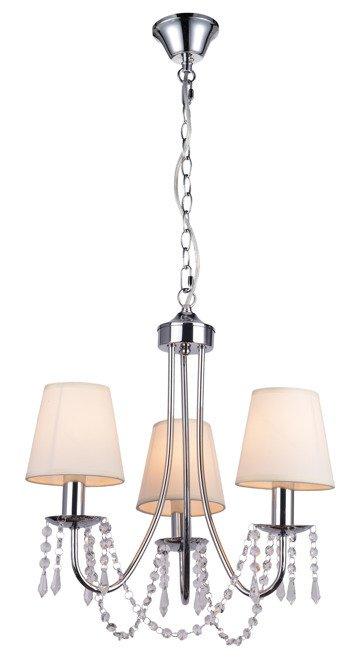 LAMPA SUFITOWA WISZĄCA CANDELLUX RUTI 33-58713  E14 BEŻOWY