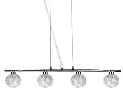 LAMPA SUFITOWA WISZĄCA CANDELLUX SPHERE 34-14047  G9 CHROM