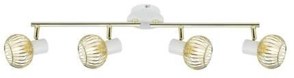 Lampa Ścienna Candellux Oslo 94-61812 Listwa E14 Biały/Złoty