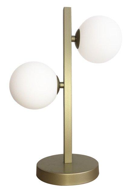 Lampa Stołowa Gabinetowa Candellux Kama 42-73433 Mosiądz