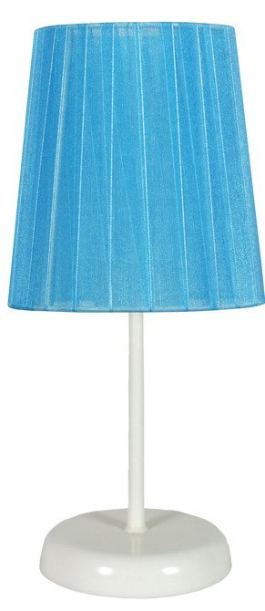 Lampa Stołowa Gabinetowa Candellux Rifasa 41-30603 E14 Niebieska