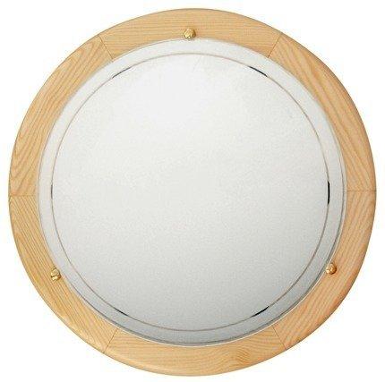 Lampa Sufitowa Candellux 1030 14-32136 Plafon Drewno Standard E27 Sosna