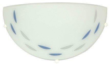 Lampa Sufitowa Candellux Łezka 11-93427 Plafon Niebieski 60W Eco