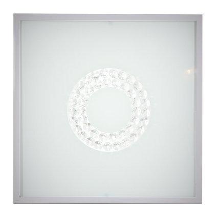 Lampa Sufitowa Candellux Lux 10-60686 Plafon 16W Led 6500K Satyna Mały Ring
