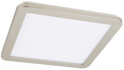 Lampa Sufitowa Candellux Nexit 10-66848 Plafon 24W Led Ip44 Satyna+Biały 3000K