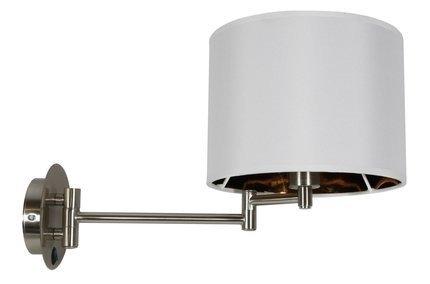 Lampa ścienna kinkiet 1X40W E14 chrom ALEXIA 21-57532