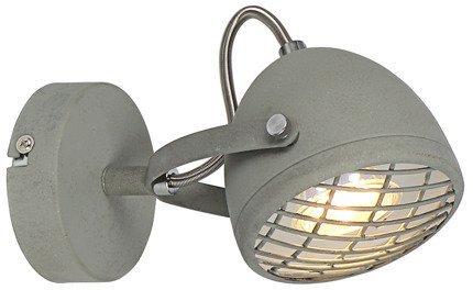 Lampa ścienna kinkiet 1X50W GU10 betonowy szary PENT 91-67999