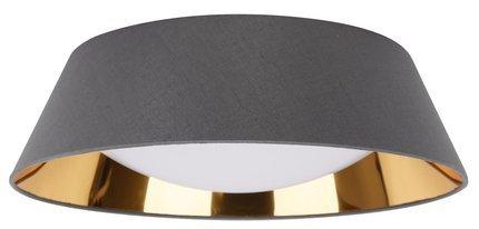 Lampa sufitowa LED biały zimny 16W szary abażur Mola Candellux 31-63663