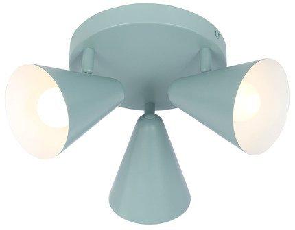 Lampa sufitowa plafon 3X40W E14 szary mat AMOR 98-63328
