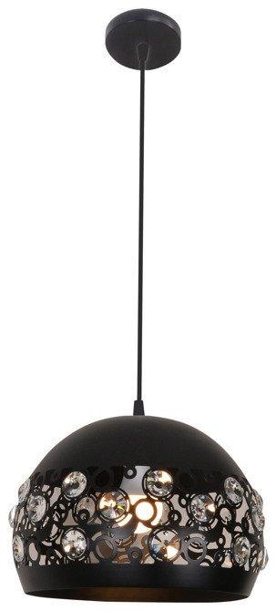 Lampa sufitowa wisząca 1X40W E27 czarny JOLINA 31-69696
