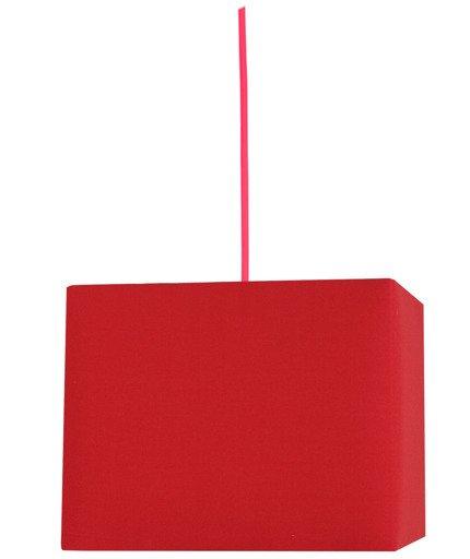Lampa sufitowa wisząca 1X60W E27 czerwony BASIC 31-06066