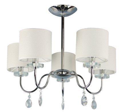 Lampa sufitowa wisząca chromowa żyrandol 5x40W Estera Candellux 35-11671