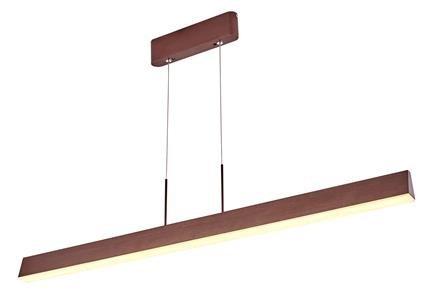 Lampa wisząca brązowa listwa LED 100x8cm Coconut A0010-310
