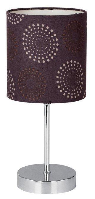 Lampka stołowa gabinetowa brązowa Emily 41-26736