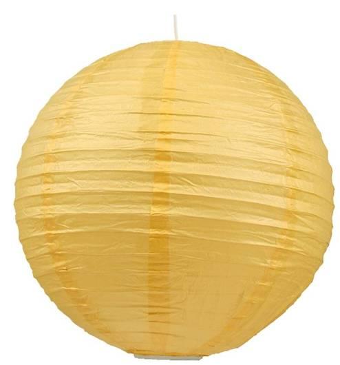 Kula Kokon Candellux Abażur 31-88188 Papierowa Żółty