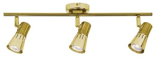 LAMPA ŚCIENNA  CANDELLUX ARENA 93-94769 LISTWA  R50 E14 ZŁOTO PATYNA