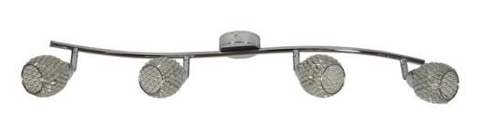 LAMPA ŚCIENNA  CANDELLUX CLEAR 94-06882 LISTWA  G9 TRANSPARENTNY