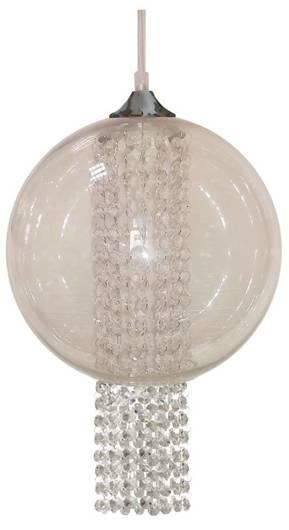 LAMPA SUFITOWA WISZĄCA CANDELLUX ALLANI 31-26668   E27 TRANSPARENTNY Z KRYSZTAŁKAMI