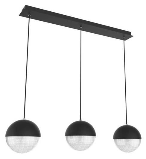 LAMPA SUFITOWA WISZĄCA CANDELLUX APETI FURNI LED CZARNY 4000K