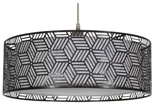 LAMPA SUFITOWA WISZĄCA CANDELLUX BROWN 31-58836   E27 BRĄZOWY