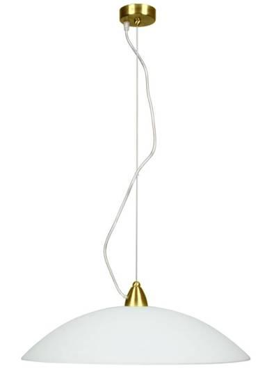 LAMPA SUFITOWA WISZĄCA CANDELLUX OTEO 31-75829  E27 BIAŁY MOSIĄDZ MAT