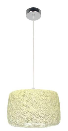 LAMPA SUFITOWA WISZĄCA CANDELLUX PANDA 31-51141   E27 KREMOWY