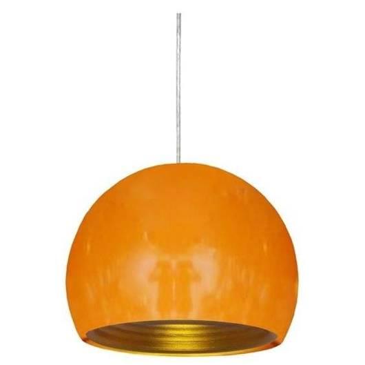 LAMPA SUFITOWA WISZĄCA CANDELLUX PICTOR 31-15143  E27 POMARAŃCZOWY