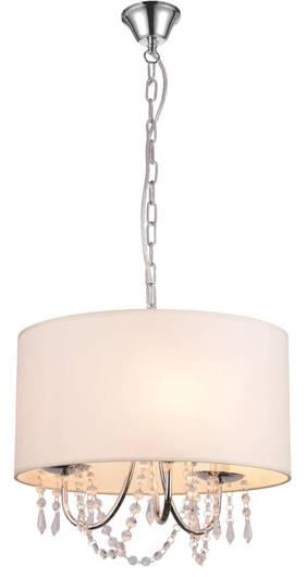 LAMPA SUFITOWA WISZĄCA CANDELLUX RUTI 31-58690   E14 BEŻOWY