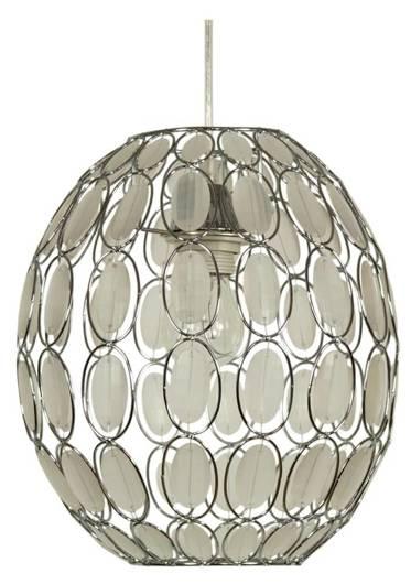 LAMPA SUFITOWA WISZĄCA CANDELLUX SELMA 31-02853   E27 BIAŁY